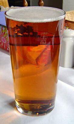 Engels glas bier
