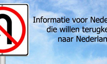 Nederlanders die terugkeren naar Nederland met een buitenlandse partner