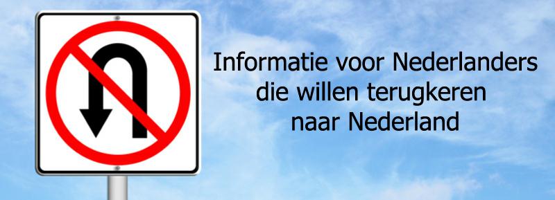 Informatie voor terugkerende Nederlanders