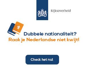 Dubbele nationaliteit? Raak je Nederlandse niet kwijt!