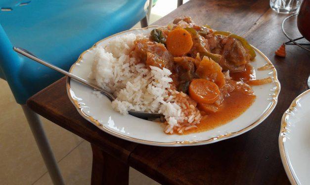 Eten en wegwezen