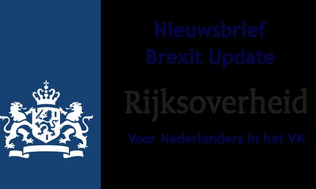 Brexit update voor Nederlanders in het VK