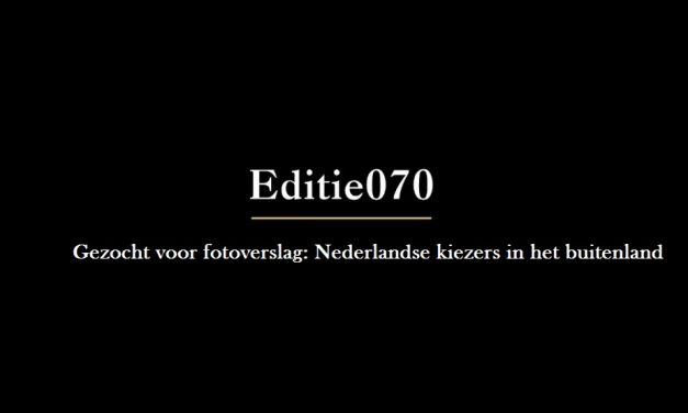 Gezocht: Nederlandse kiezers in het buitenland