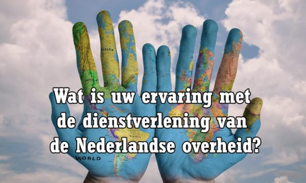 Wat is uw ervaring met de dienstverlening van de Nederlandse overheid in het buitenland