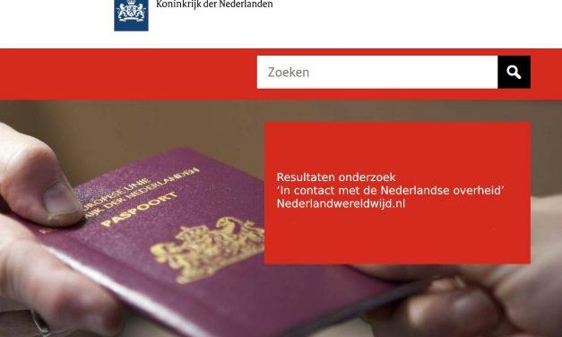 Resultaten onderzoek 'In contact met de Nederlandse overheid' beschikbaar